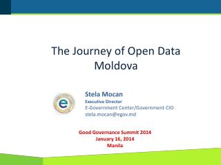 The Journey of Open Data Moldova