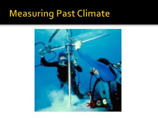 Measuring Past Climate