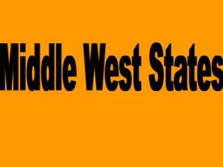 Middle West States