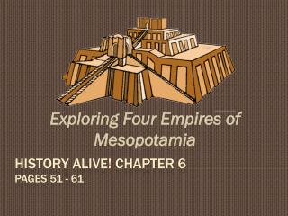 History Alive! Chapter 6 pages 51 - 61