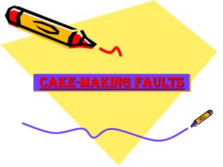 CAKE-Making FAULTS