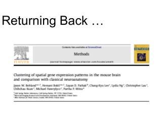 Returning Back …