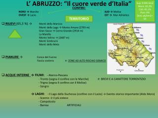 """L' ABRUZZO: """"Il cuore verde d'Italia"""""""