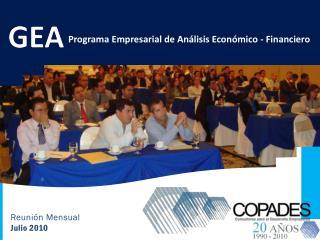 Programa Empresarial de Análisis Económico - Financiero