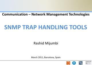 Communication – Network Management Technologies