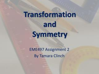 Transformation  and  Symmetry