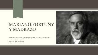 Mariano Fortuny y Madrazo