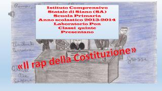 Istituto Comprensivo Statale di Siano (SA) Scuola Primaria Anno scolastico  2013-2014