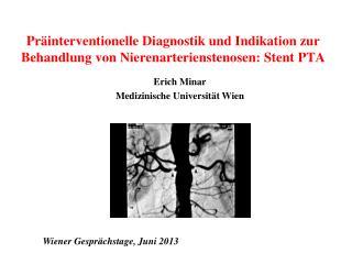 Erich Minar Medizinische Universität Wien