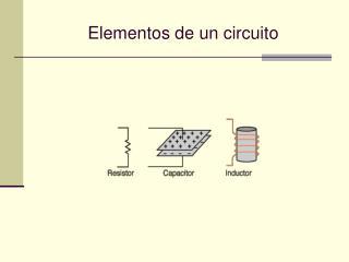 Elementos de un circuito
