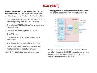 ECS (GBT)