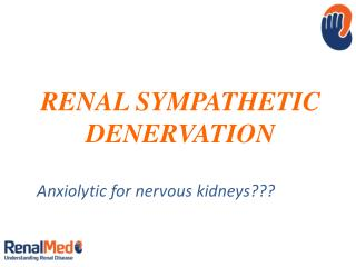 RENAL SYMPATHETIC DENERVATION