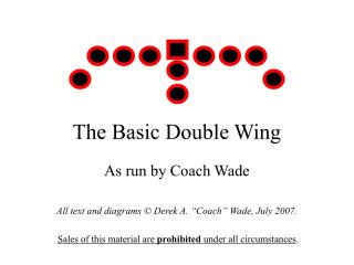The Basic Double Wing