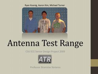 Antenna Test Range