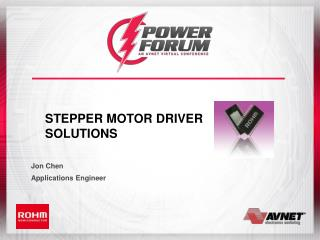 Stepper Motor Driver  Solutions