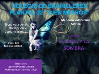 """COLEGIO DE BACHILLERES PLANTEL 02 """" CIEN METROS"""""""