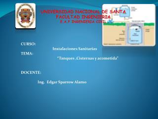 UNIVERSIDAD NACIONAL DE SANTA FACULTAD INGENIERIA E.A.P INGENIERIA CIVIL