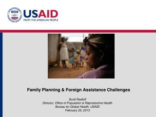 Family Planning & Foreign Assistance Challenges