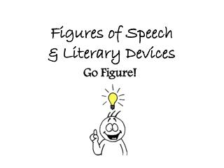 Figures of  Speech & Literary Devices