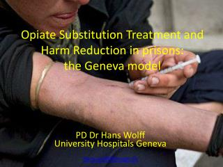 Opiate Substitution Treatment and Harm Reduction in prisons :  the  Geneva  model