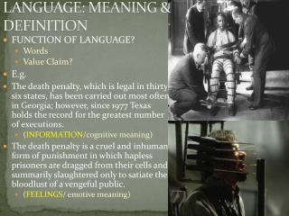 LANGUAGE: MEANING & DEFINITION
