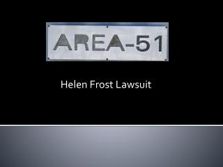 Helen Frost Lawsuit