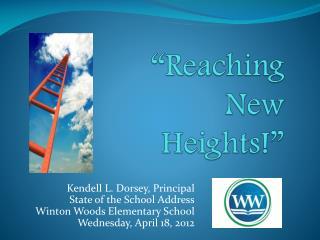"""Reaching New Heights!"""
