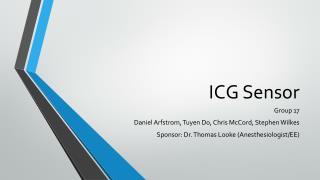 ICG Sensor