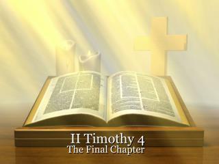 II Timothy 4