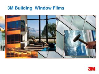 3M Building  Window Films