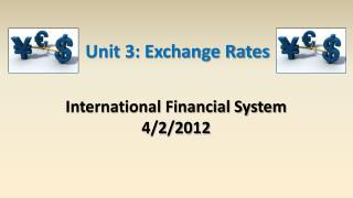 International Financial System 4/2/2012