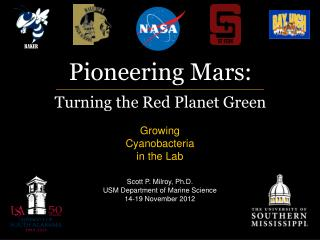 Pioneering Mars: Turning the Red Planet Green
