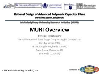 MURI Overview