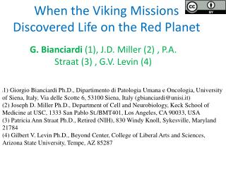 When the Viking Missions  Discovered  Life on the Red Planet