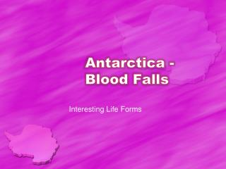 Antarctica - Blood Falls