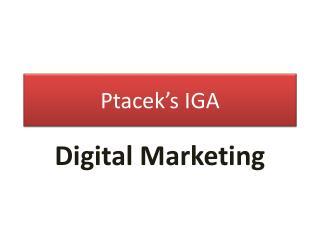 Ptacek's IGA