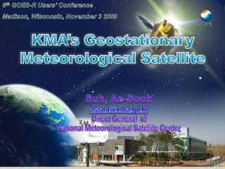 KMA's Geostationary Meteorological Satellite