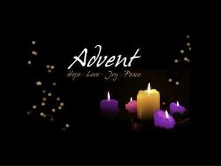 """Advent means """"coming or arrival."""""""