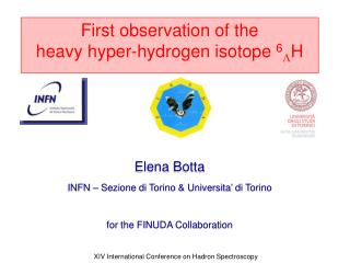 First observation of the heavy hyper-hydrogen isotope  6 L H