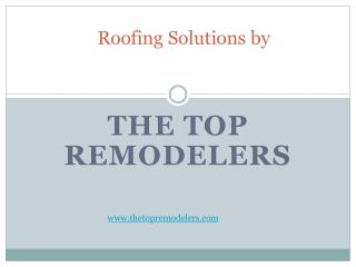 Roofing Solutions by