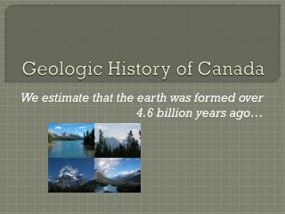 Geologic History of Canada