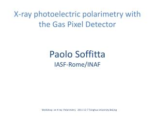 X-ray photoelectric  p olarimetry  with the  G as Pixel Detector