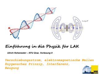 Ulrich Hohenester – KFU Graz ,  Vorlesung 9