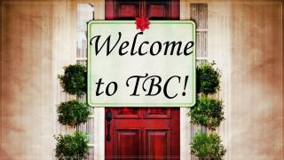 Welcome to TBC!