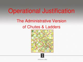 Operational Justification