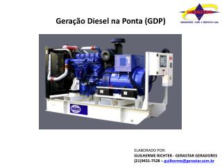 Geração  Diesel  na Ponta ( GDP )
