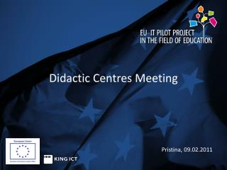 Didactic Centres  Meeting