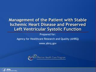 Prepared for: Agency for Healthcare Research and Quality (AHRQ) www.ahrq.gov