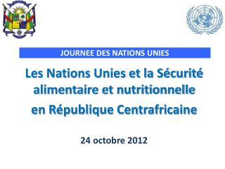 JOURNEE DES NATIONS UNIES