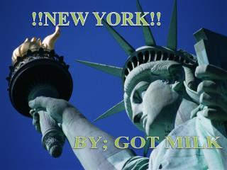 !!NEW YORK!!